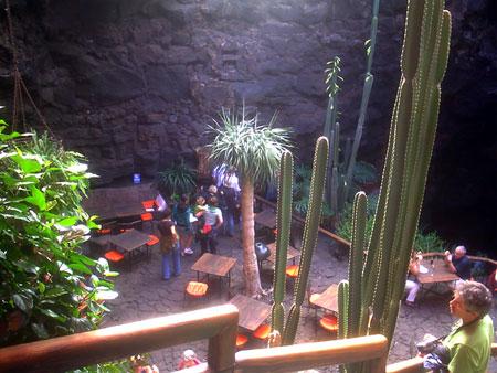 Eingang Jameos del Agua