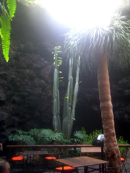 Grotte mit Tageslicht