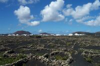 Lava-Landschaft Lanzarote