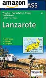 Kompass-Karten Lanzarote