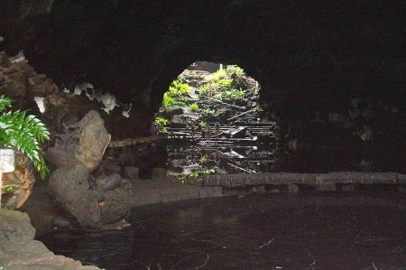 unterirdischer See - Jameos del Agua