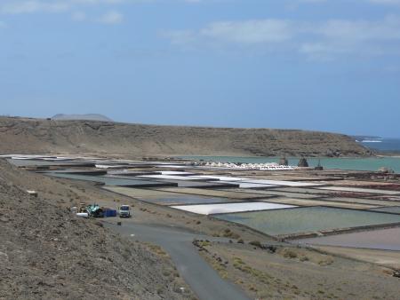 Meersalz salinen Lanzarote