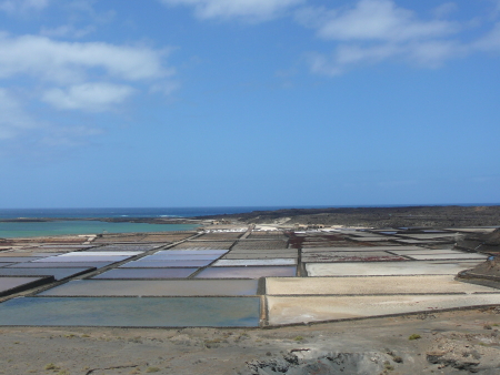 Salz-Salinen Lanzarote