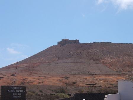 Castillo de Santa Barbara, Teguise